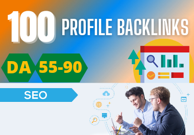 Live and Permanent 100 Dofollow Manual Profile Backlinks