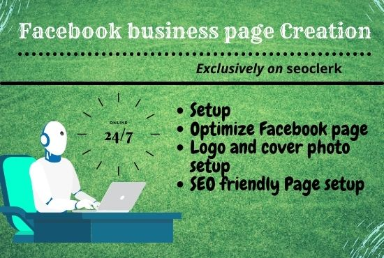 Facebook business page Creation