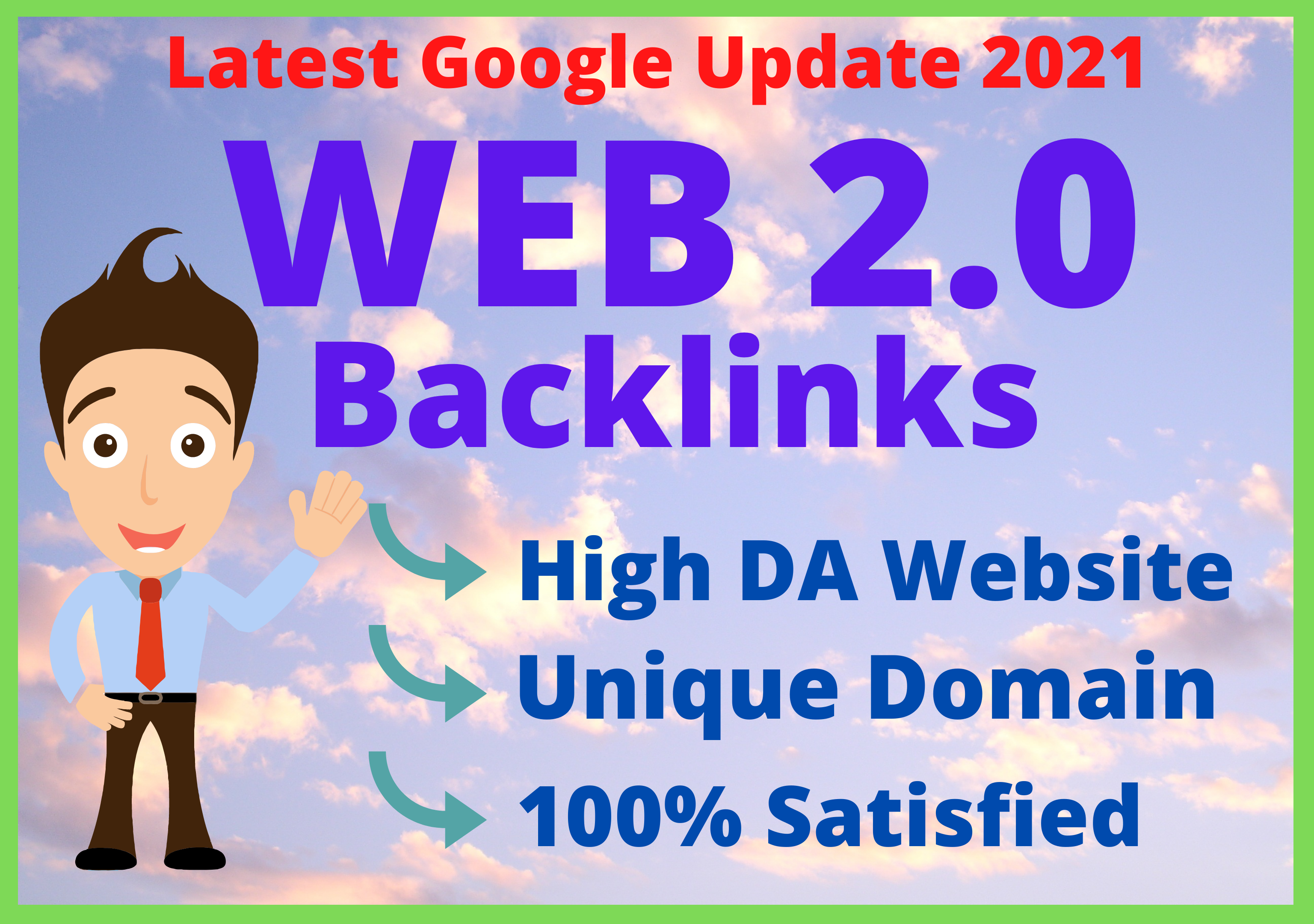 I Will Create 50 High Quality Web 2.0