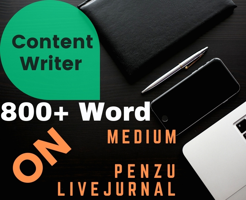 I want to write 80O+ Word for SEO Website As a Content writer,  Blog and Article writer