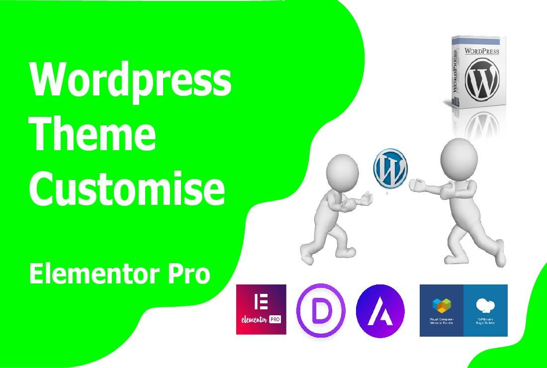 I will do wordpress install and wordpress website customization