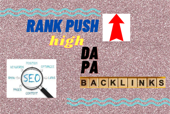 I Will rank your Website with 100 high DA PA dofollow backlinks in 2 days