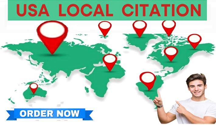 I will do 100 USA local citations and business directories