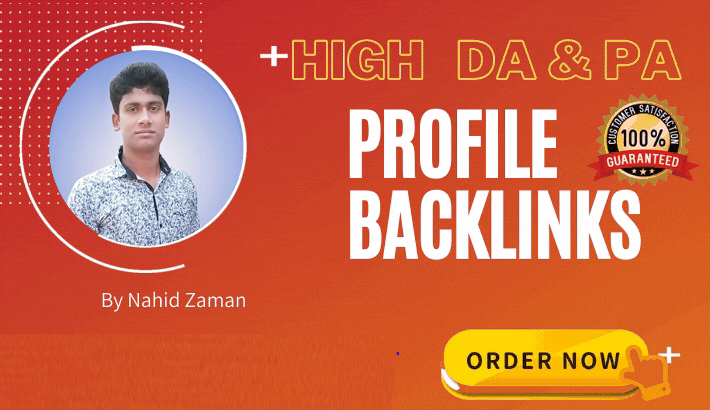 I will create 99+ Dofollow Profile Backlinks