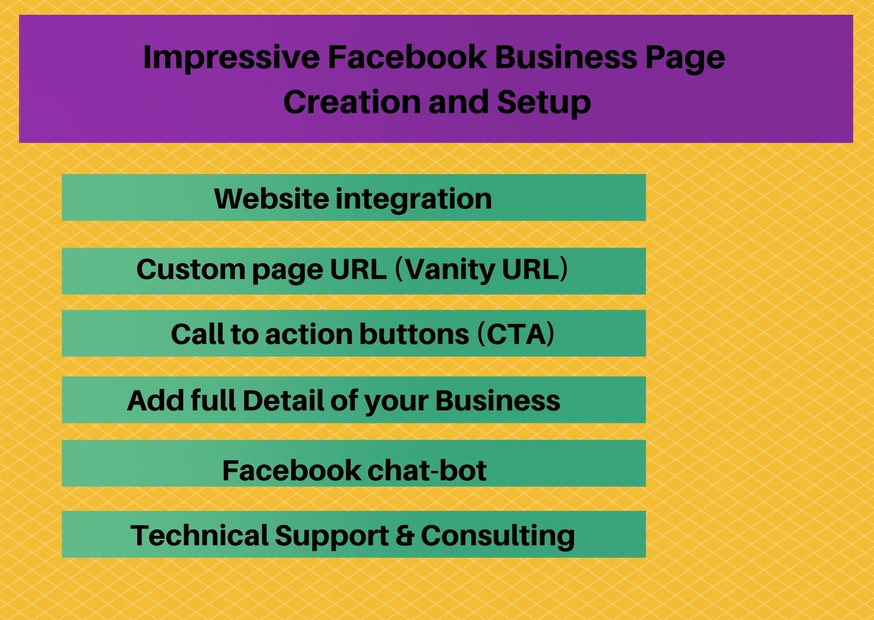 I will create,  manage and optimize an impressive Facebook business page