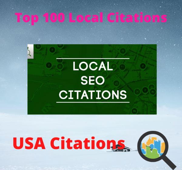 I will create 100 local listing citation