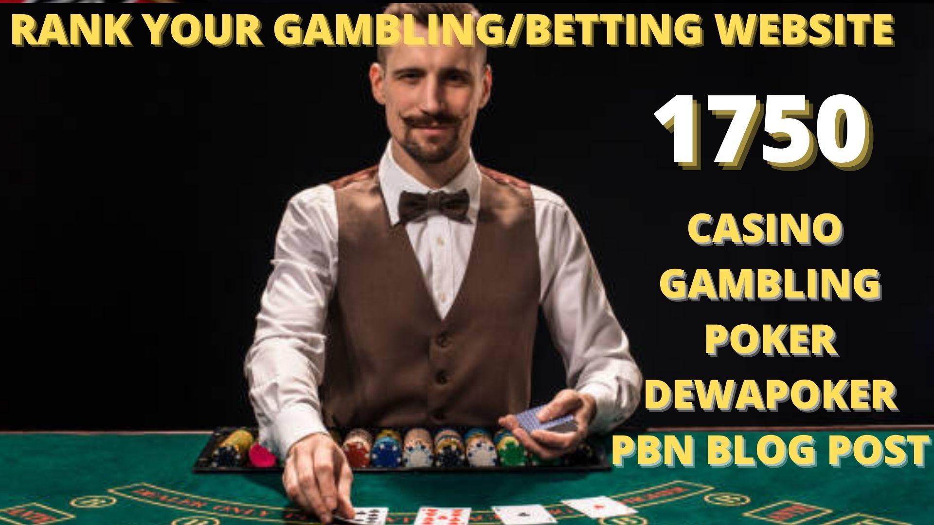 permanent 1750 casino/poker/gambling/joker/judi bola web2.0 unique related site