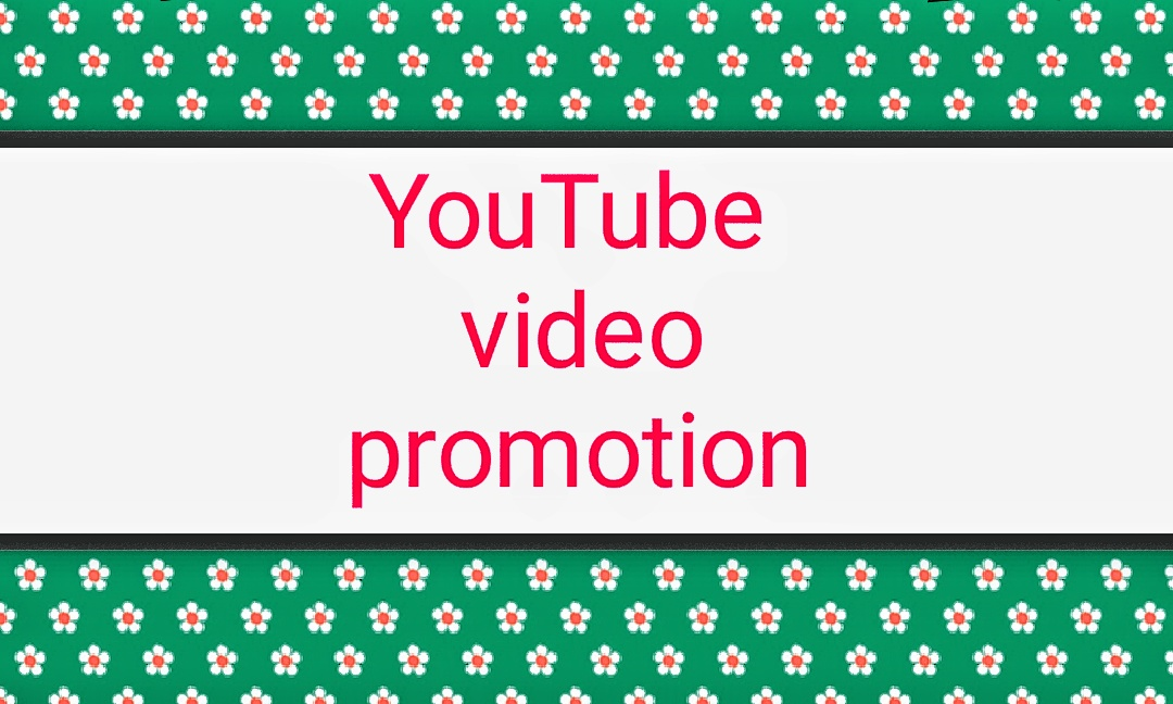 Sincere YouTube video promotion and marketing.