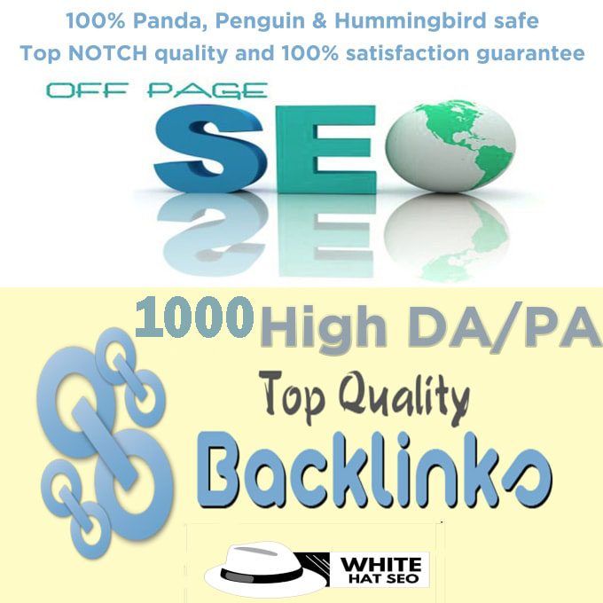 I will do 1000 high domain authority SEO profile backlink