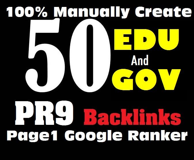 Provide 20 USA EDU GOV+30 Pr9 Powerful High Da Authority Dofollow Backlinks Seo Link Building