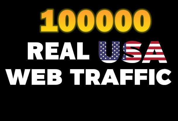Send Real & Unique 100000+ Human USA Web Traffic to your website