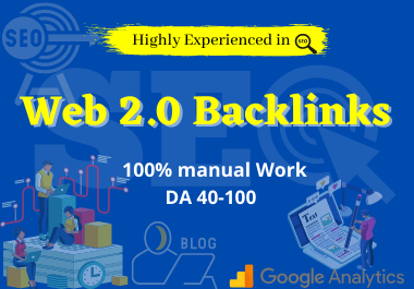 I will do 25+ high authority web 2.0 backlinks