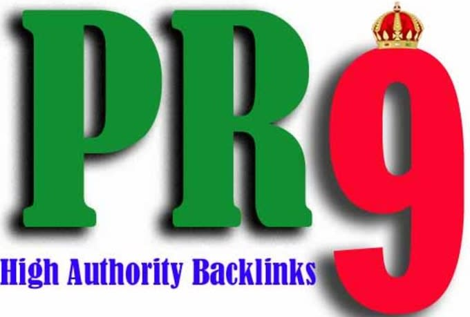 I will do 100 pr7 to pr9 seo links for google rankings