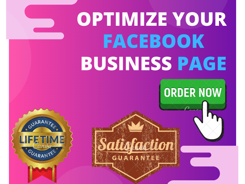 Create Updated SEO Optimize Facebook Business Page