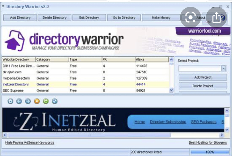 Directory warrior for any language