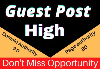 Write and Publish 10 Guest posts Unique article high authority website permanent backliks