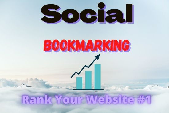 I Will Provide You 50+ Social Bookmarking With High Quality Backlinks For Your Website
