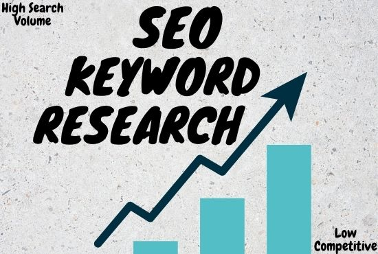 I will Produce Methodically SEO Keyword Research and Competitor Analysis