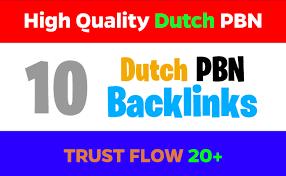 I will cerate high quality 10 dutch SEO authority backlinks