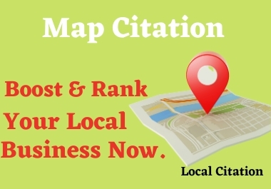 Create 300+ Google Map Citations With Add Driving Directions For Local Business