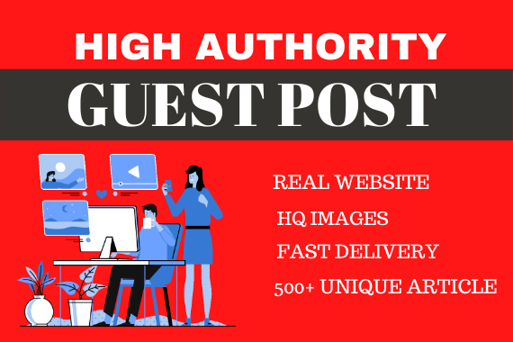 I will publish 10 Guest Posts on High Mertrics unique Blogs,  Rank your Website