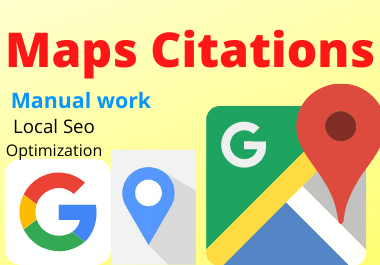 Manual 150 Google Map point citation must rank your website any category any location