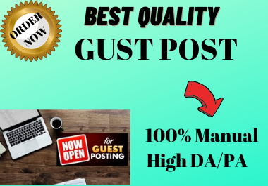 Write and Publish 5 Gust Post on HQ website permanent backlink antique article