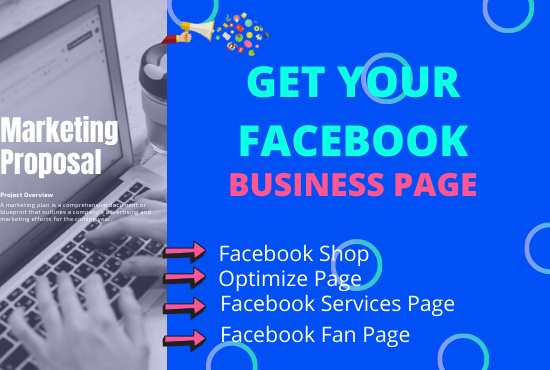 Create and setup your Facebook business page