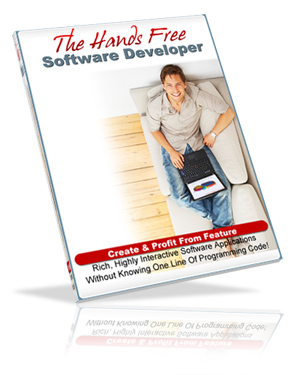 Hands free software developer create and profit from feature