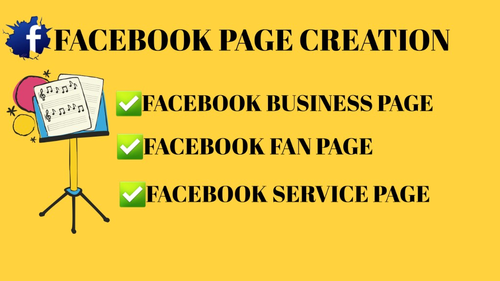 Create,  Set Up & Optimize your Fb Business Page & Service Page