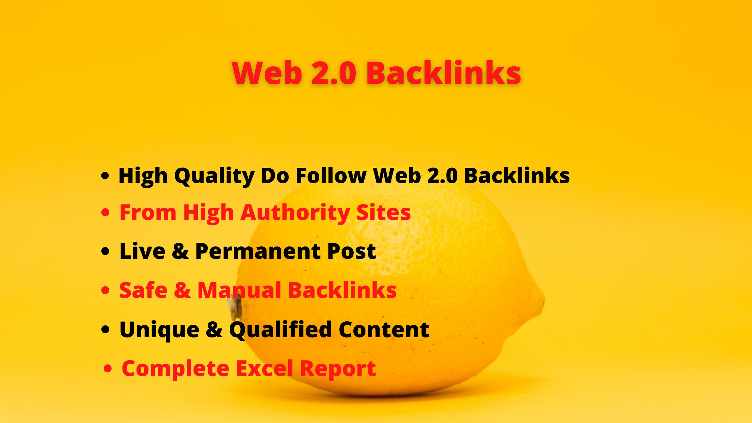 Get 70 High Quality Web 2.0 Profile Backlinks