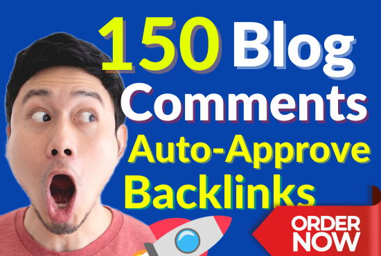 150 Manually Dofollow High PR HD Blog Commenting and Auto Approve SEO Link Building