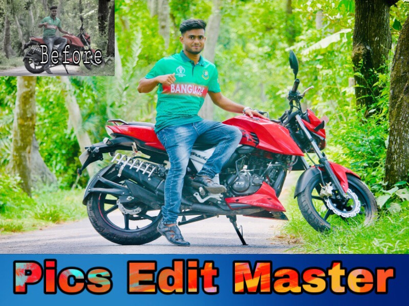 I Can edit Smooth clear high quality HD PICS with unlimited revission untill You want