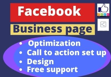 I will create your Facebook optimized smoothly