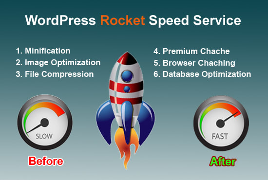 I will do wordpress website speed optimization and improve load time