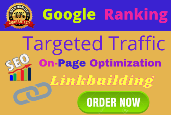 Guaranteed 1 Keyword Google 1st page ranking with best linkbuilding service