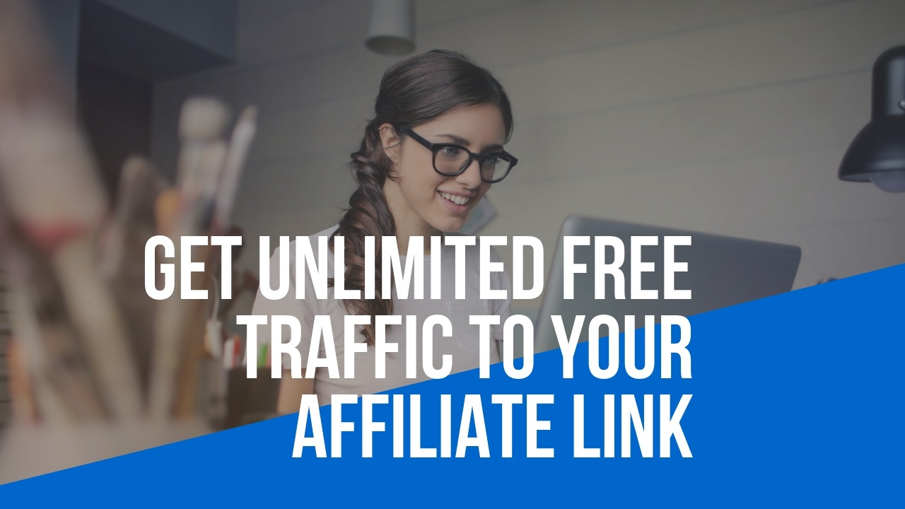 I will drive unlimited traffic to your website,  affiliate link,  affiliate referral link, crypto