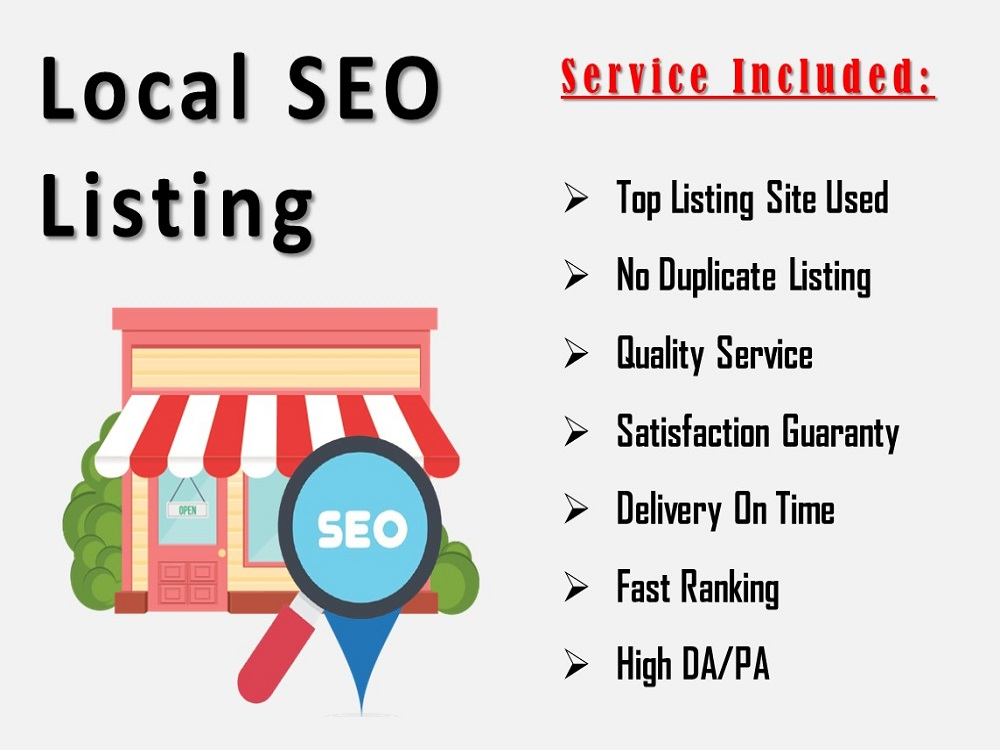 Do 50 local listing manually for your bussiness