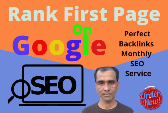 Monthly SEO Service First Page Ranking with linkbuilding