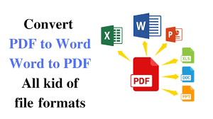 I will convert pdf to html pdf to word within 24h