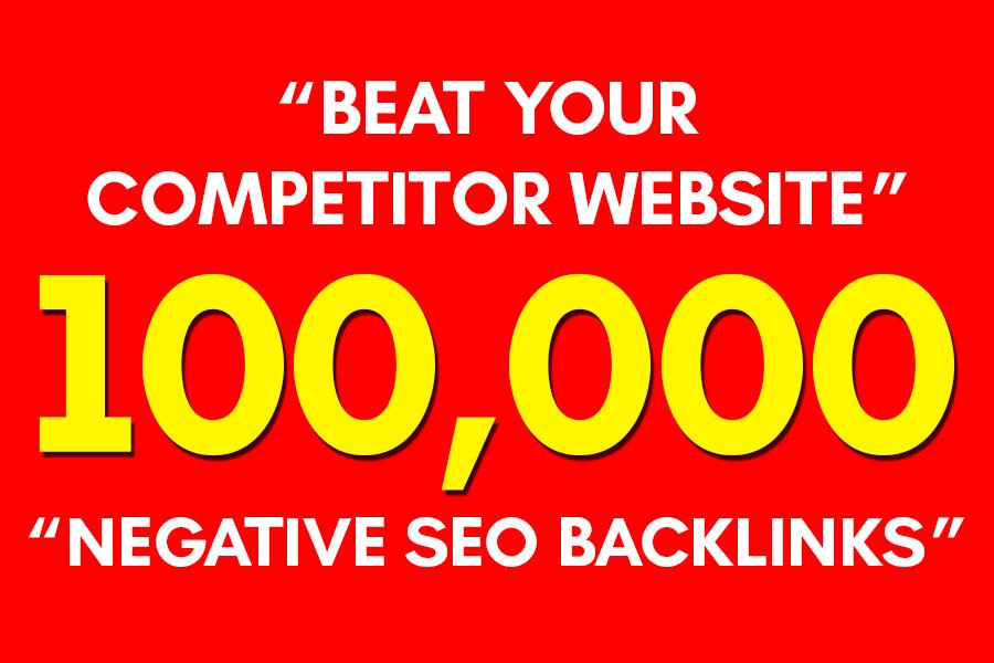 Create a Negative SEO GSA Backlinks 1 Month Campaign