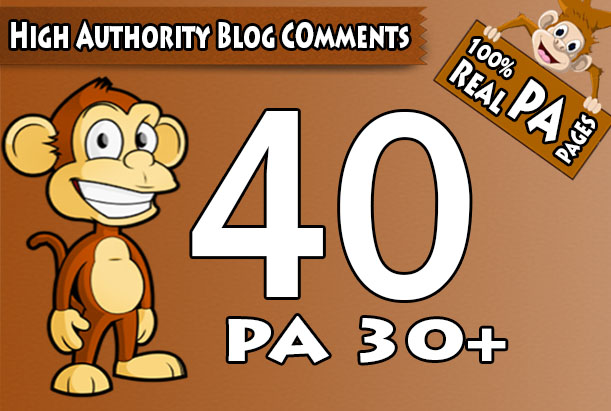 I will skyrocket your websites with 40 High PA/DA TF/CF Trust Flow Dofollow Blog Comments Backlinks