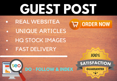 Write and Publish 10 Guest Post on high authority website unique content permanent backlinks