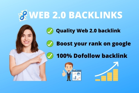 I will do 40 web 2.0 High authority DA PA backlinks