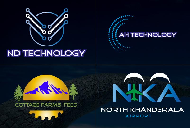 I will design modern minimalist and lettermark logo in 12 hourse