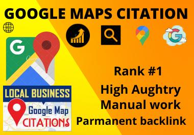 Manual 200 Google Maps Citation manual high authority permanent local citation