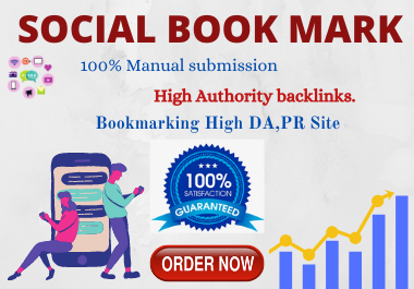 20 Social Bookmarking High authority Backlinks must rank your website permanent for 1