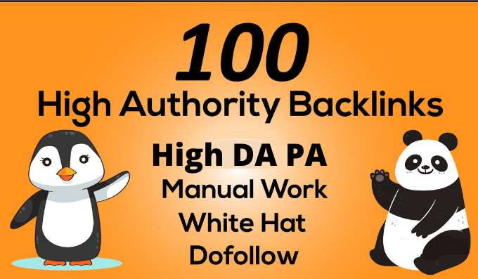 I will Build 100 high quality backlinks white hat SEO link building
