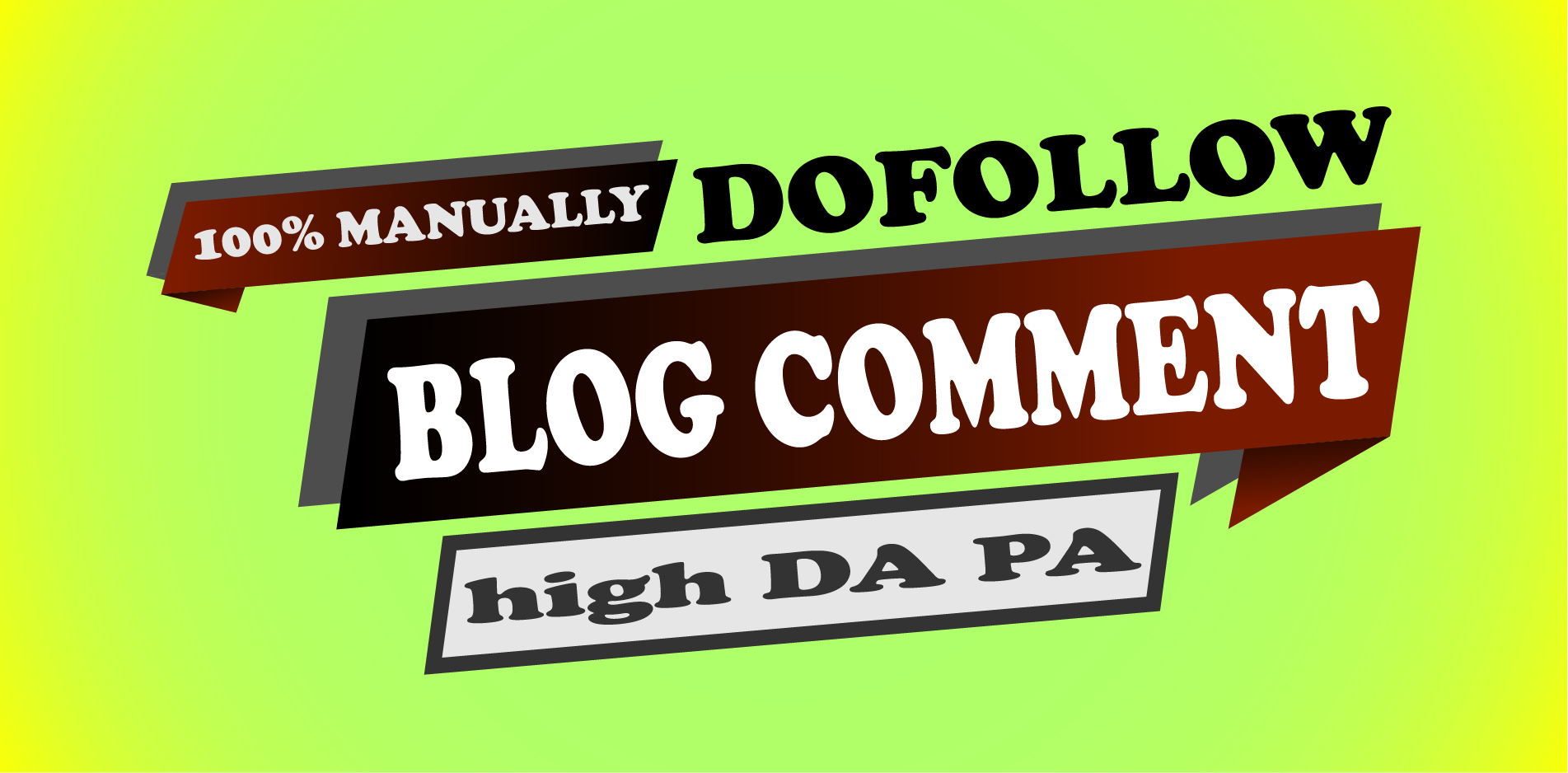 50 dofollow blog comment manually with high DA PA