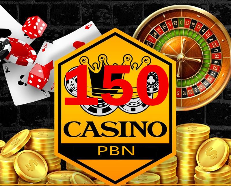 150 High Quality Casino/Gambling/Poker/Sports/Betting Related niche PBN Posts.